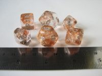 Dice : 6die CHX nebula copper