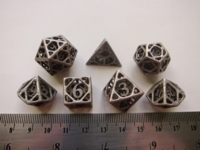 Dice : 7die SW CW cage stainless