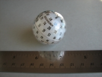 Dice : d100 white no weight