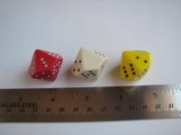 Dice : d10 28mm pipped