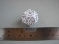 Dice : d12 28mm clocks