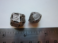 Dice : d12 SW CW detailed rhomboid SS