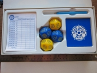 Dice : d14 game CD Leeds