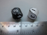 Dice : d4 QW twisted cylinder