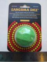 Dice : d50 Sangoma green