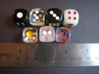 Dice : d614mmchinesestyle