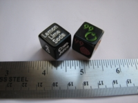 Dice : d6 16mm 99 proof
