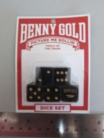 Dice : d6 16mm BennyGold