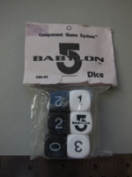 Dice : d6 16mm CGS Babylon5