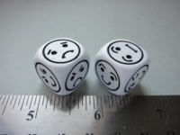 Dice : d6 16mm CHX reaction