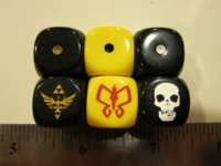 Dice : d6 16mm CatMonkey Venture Brothers