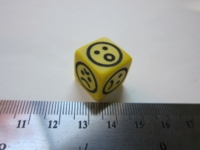 Dice : d6 16mm EH emoticons
