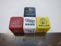 Dice : d6 16mm FB decision dice