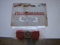 Dice : d6 16mm GF9 MW Republic Sphere