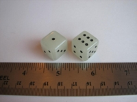 Dice : d6 16mm GID math