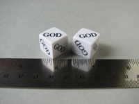 Dice : d6 16mm GOD