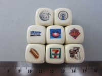Dice : d6 16mm JoeB GenCon12