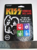 Dice : d6 16mm KISS drinking game