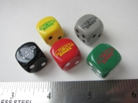 Dice : d6 16mm Minion Games