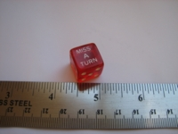 Dice : d6 16mm Miss a Turn