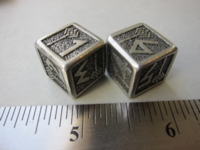 Dice : d6 16mm QW Dwarven metal