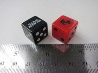 Dice : d6 16mm RedDeadRedemption