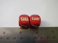 Dice : d6 16mm SHA ZAM
