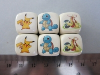 Dice : d6 16mm YakYak Pokemon