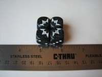 Dice : d6 16mm chaos set