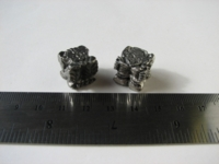 Dice : d6 16mm pewter gargoyle