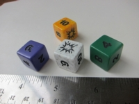 Dice : d6 16mm rpgshop bang
