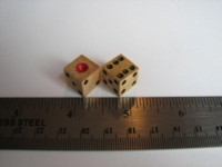 Dice : d6 16mm wood