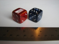 Dice : d6 19mm firecracker jspassnthru