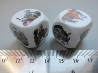 Dice : d6 22mm CC DGD dwarf