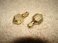 Dice : tradebrass d6 spinners