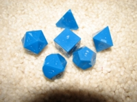 Dice : tradediamond dice blue